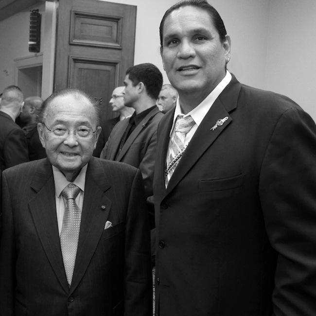 Ernie Stevens and Kevin Leecy: Paying tribute to Daniel Inouye