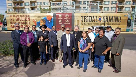 Arizona tribes reach $1B milestone in gaming revenue sharing