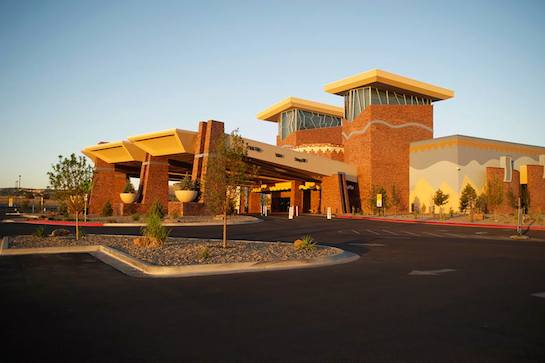 Navajo president signs bill to acquire land near gaming facility