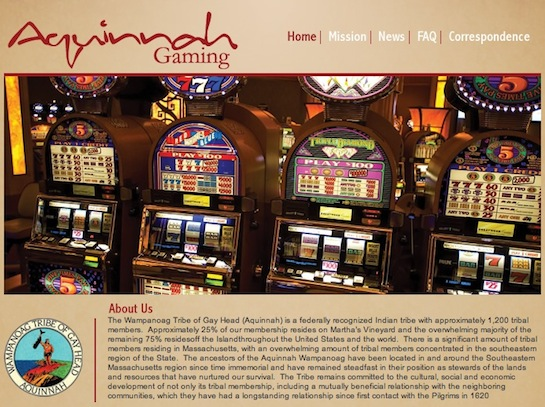 Aquinnah Wampanoag Tribe acquires land adjacent to casino site