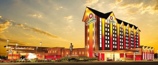 Cherokee Nation continues work on new $78.5M gaming facility