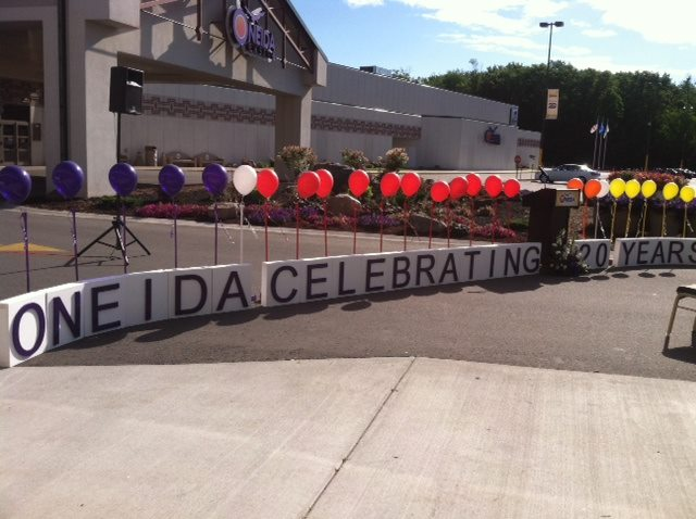 Oneida Nation celebrates 20th birthday of main gaming facility
