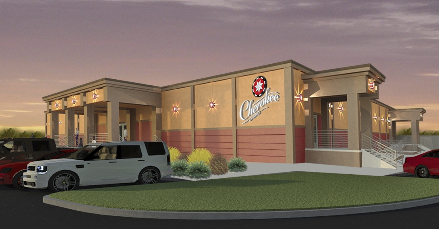 Cherokee Nation starts construction on casino at Indian allotment