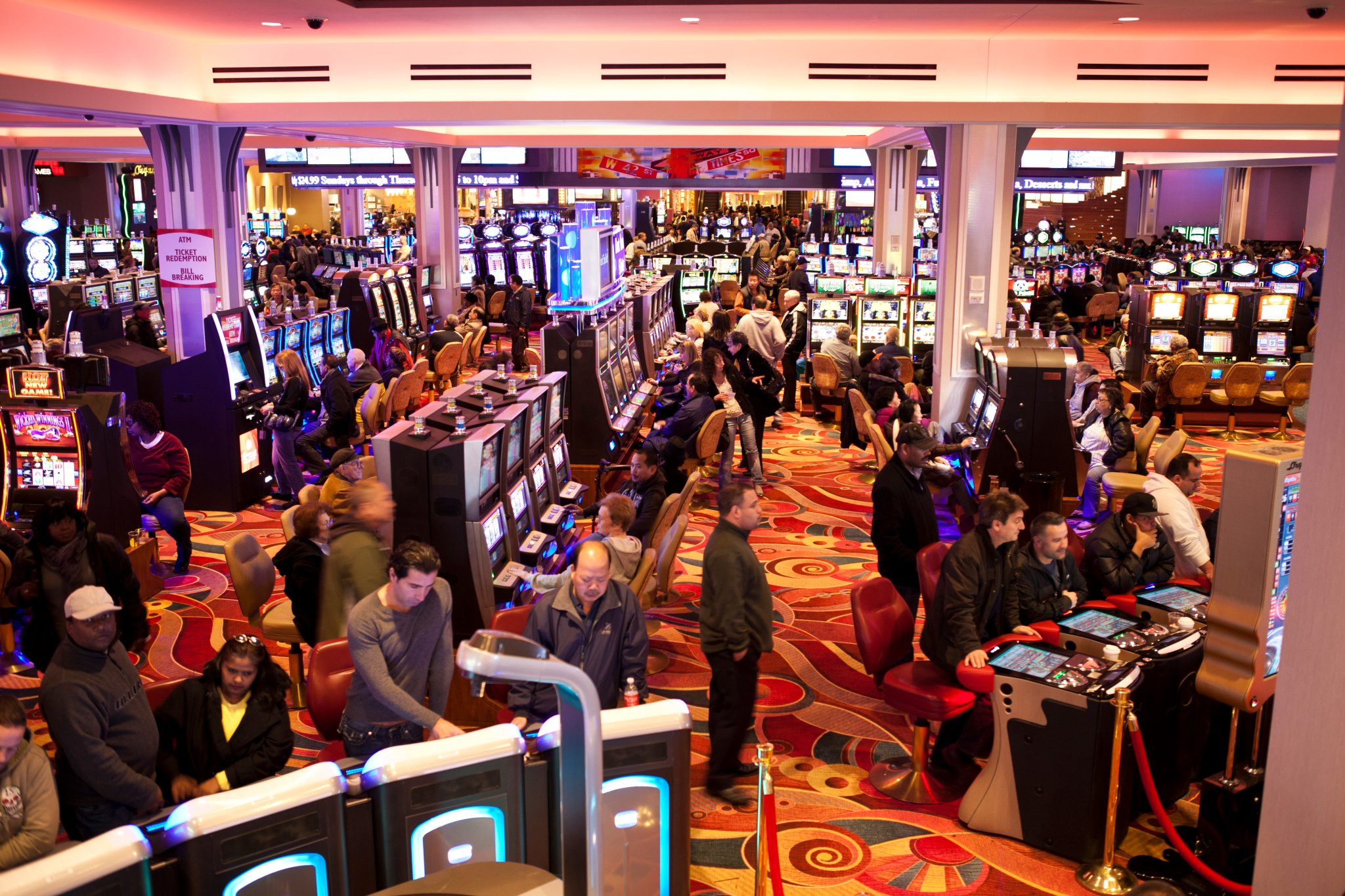 Non-Indian gaming facility in New York is highest-grossing in US