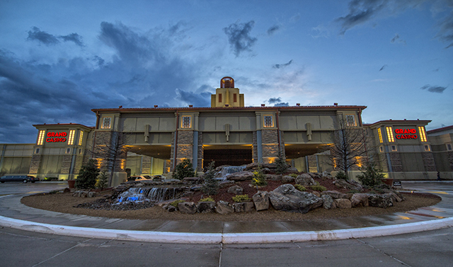 What is the Grand Casino Hotel in Shawnee, Oklahoma?