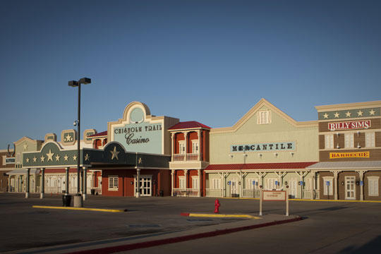 Chickasaw Nation fired casino employee after faulty arrest