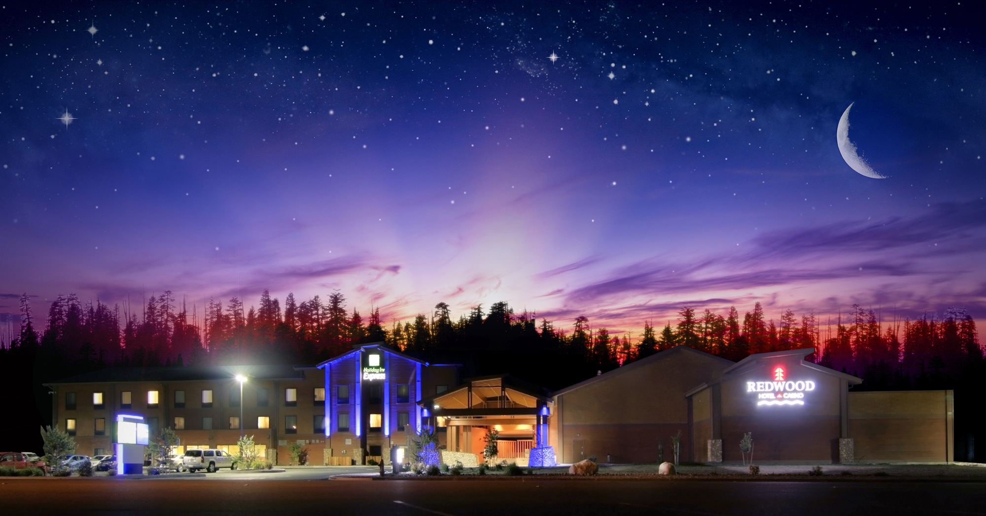 Yurok Tribe welcomes visitors to casino and hotel in Redwoods