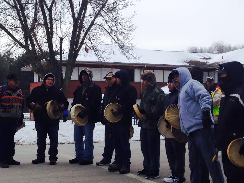 Menominee Nation starts 156-mile walk to rally casino support