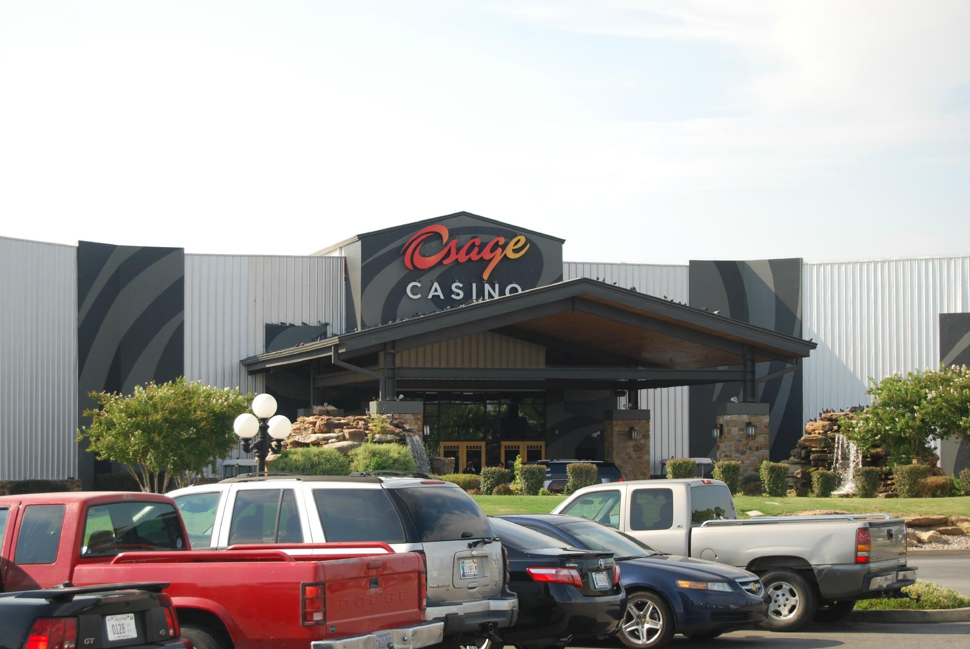 Man dies after being tasered by officer at Osage Nation casino