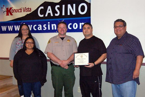 Security at Big Valley Band's casino helped find murder suspect