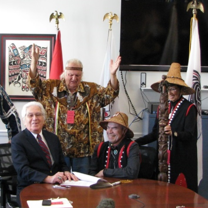 Cowlitz Tribe celebrates as BIA finally puts gaming site in trust
