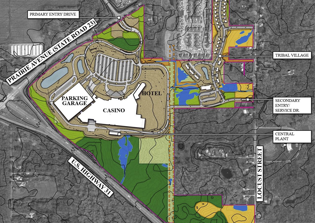 Pokagon Band includes casino in land-into-trust plan in Indiana
