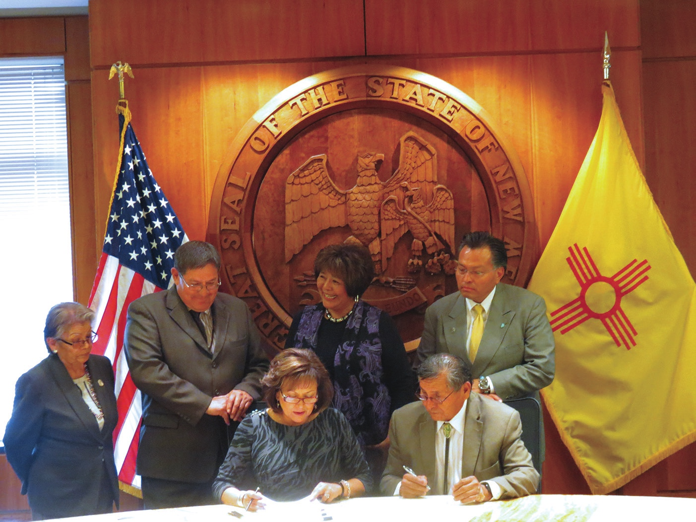 Tribes in New Mexico  send new  Class III gaming compact to BIA