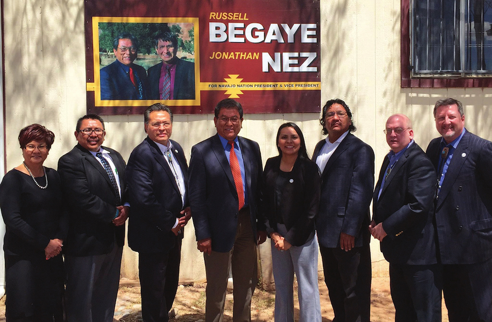 Navajo Nation leader hails action on Class III gaming compact