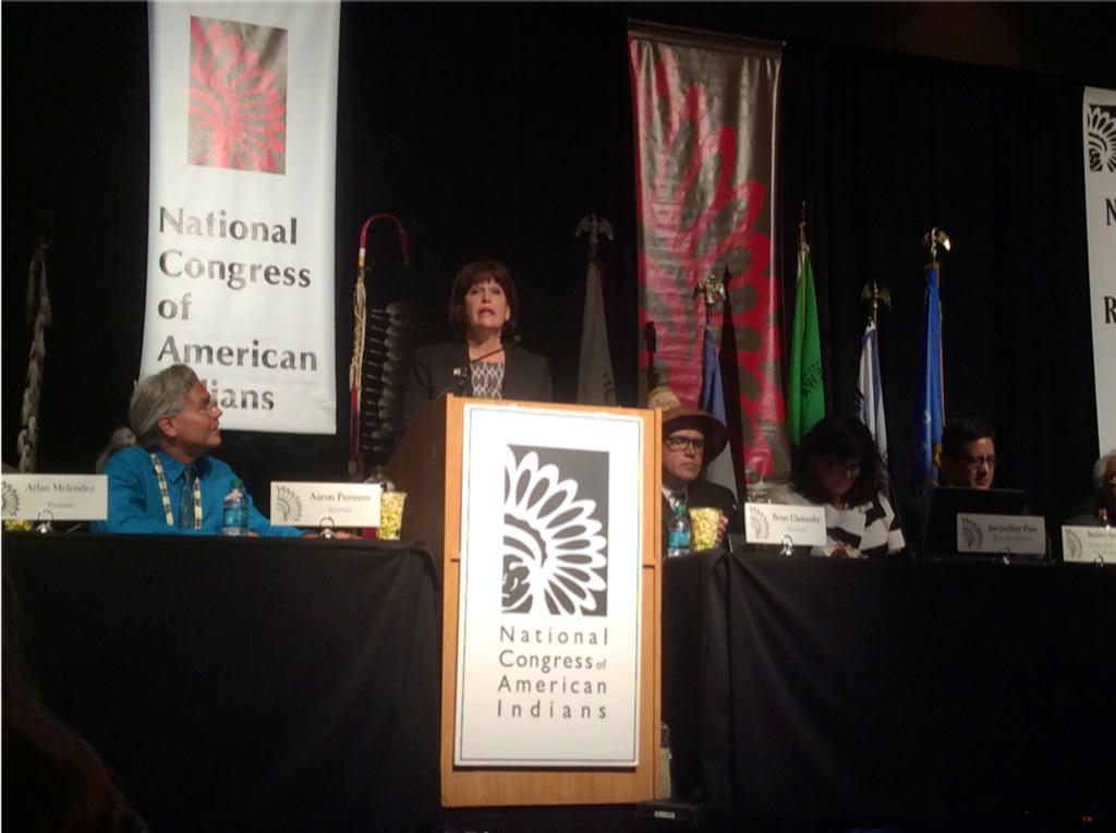 Rep. McCollum vows support for Tribal Labor Sovereignty Act