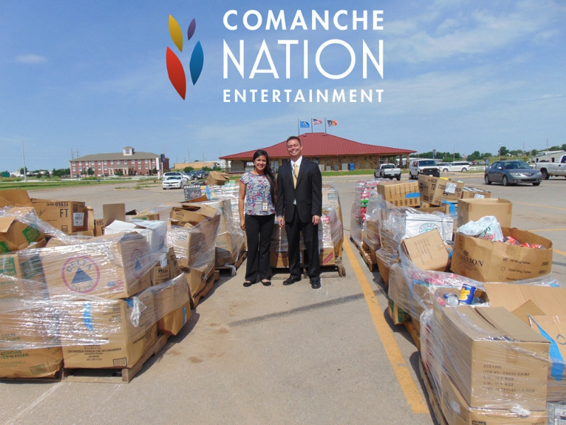 Comanche Nation casino employees and patrons rally after flood