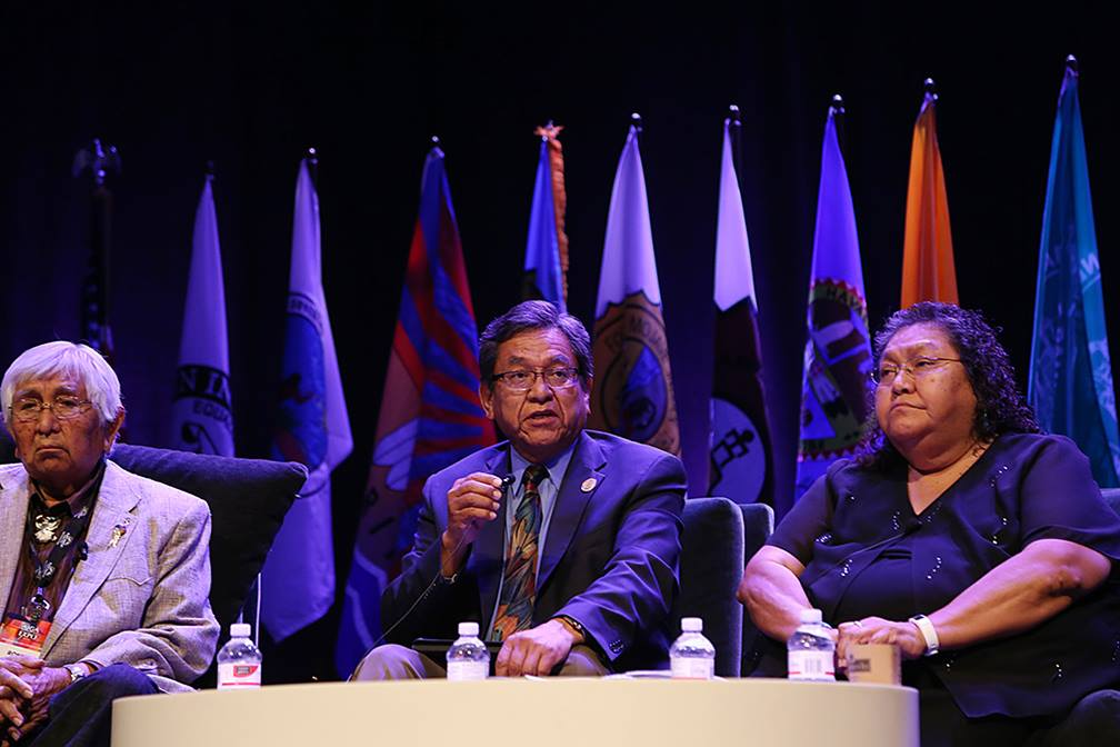 President of Navajo Nation touts benefits of gaming enterprise