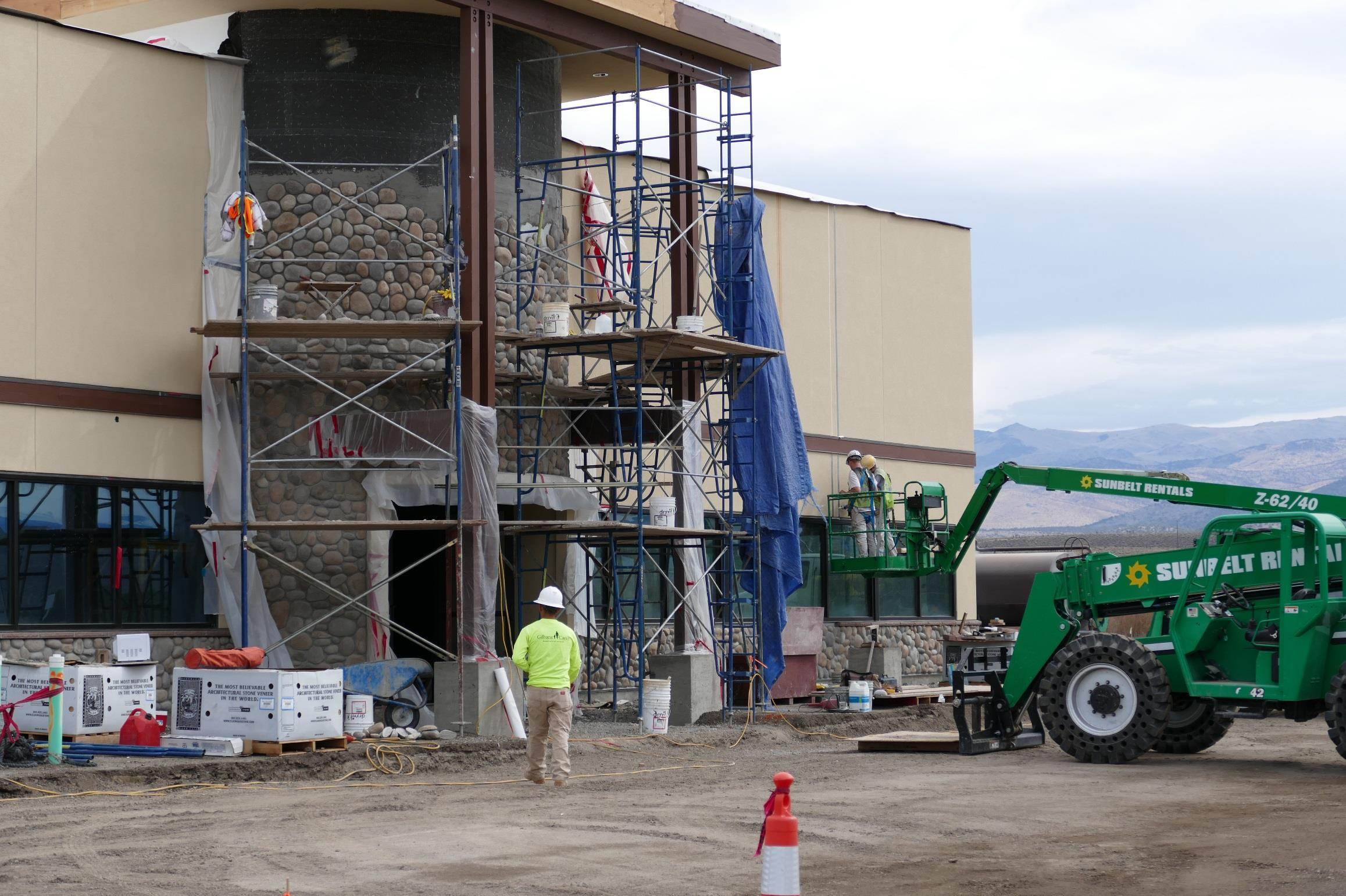 Washoe Tribe and Poarch Creeks start work on casino project
