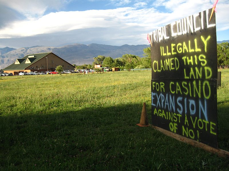 Bishop Paiute Tribe loses ruling in casino expansion dispute