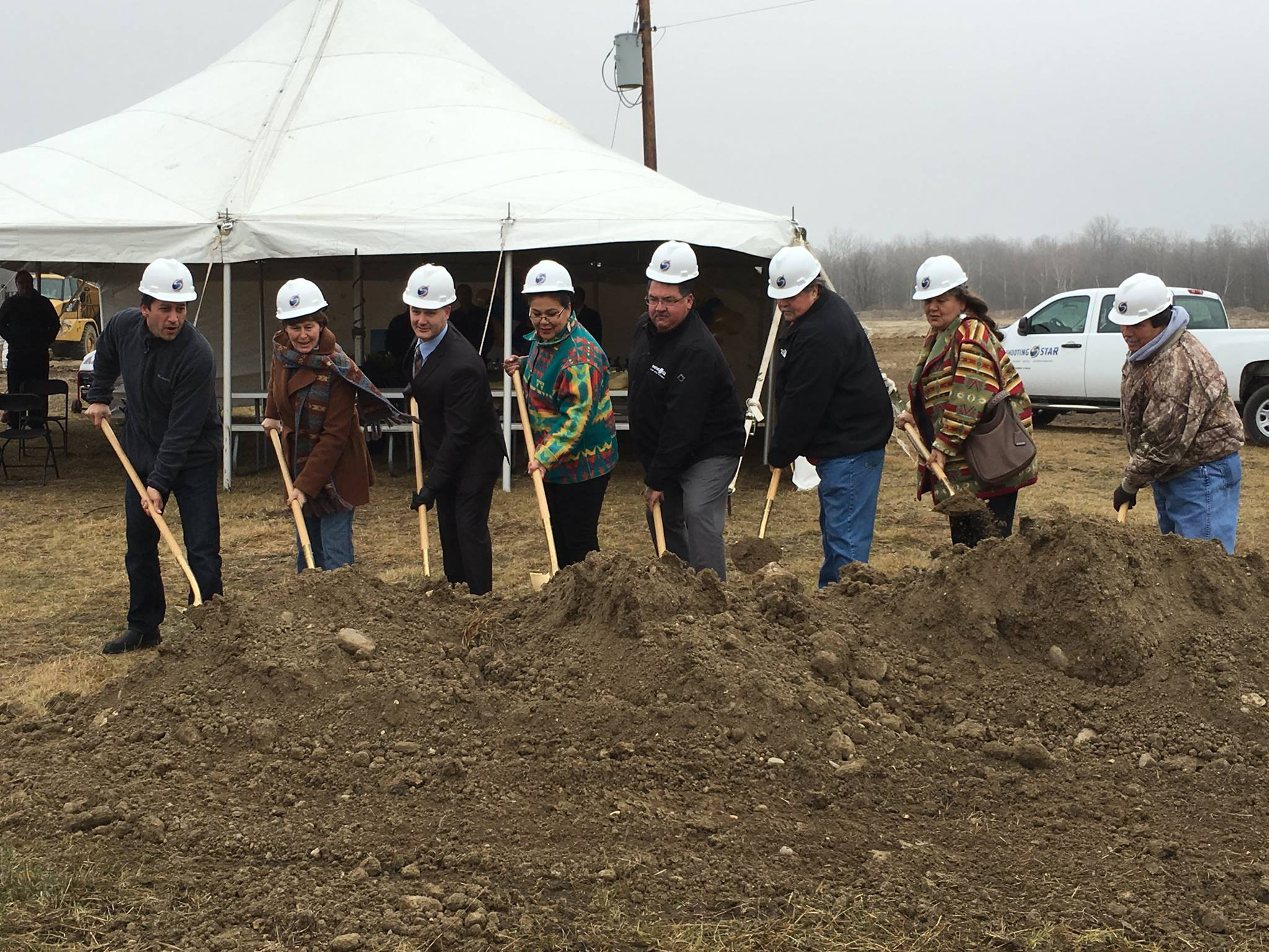 White Earth Nation breaks ground on second gaming facility
