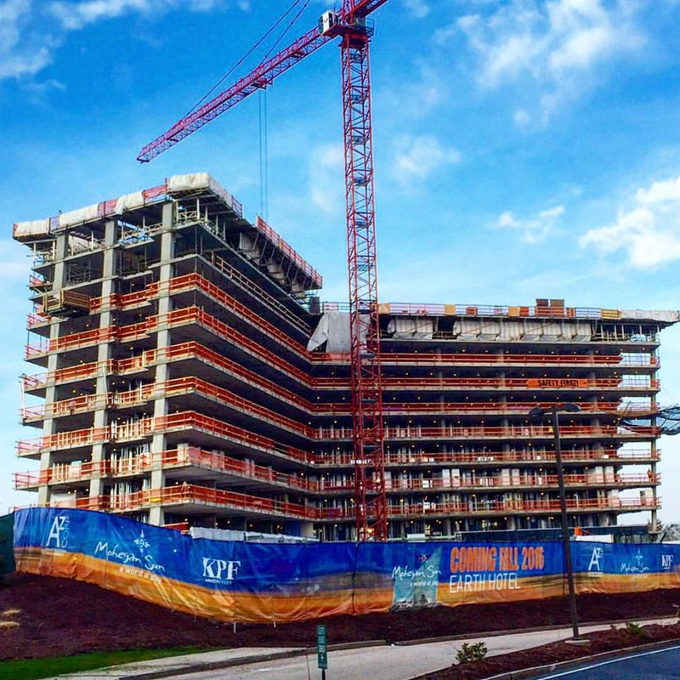 Mohegan Tribe sets opening date for $130M hotel at casino