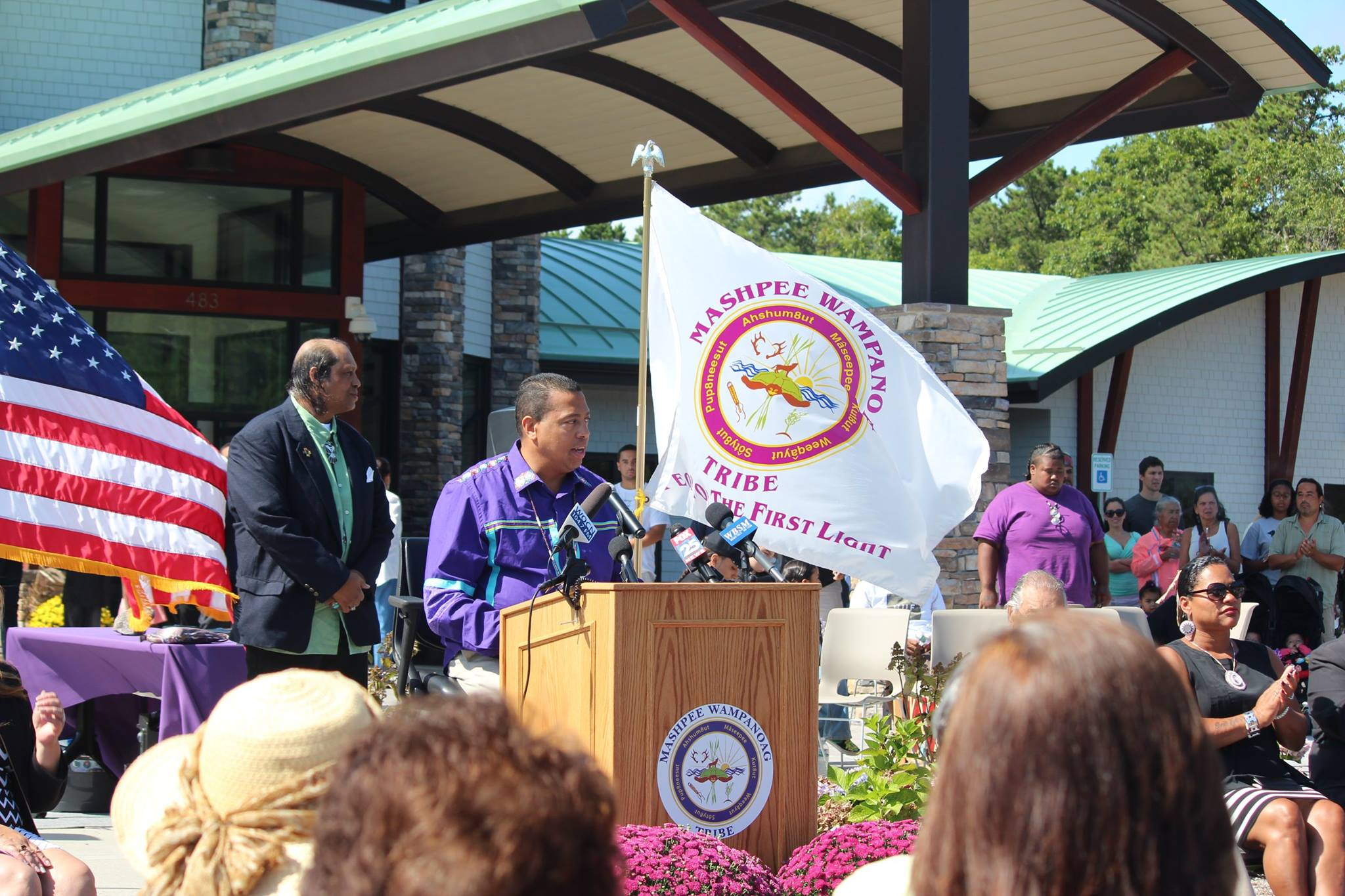 BIA formally declares reservation for Mashpee Wampanoag Tribe