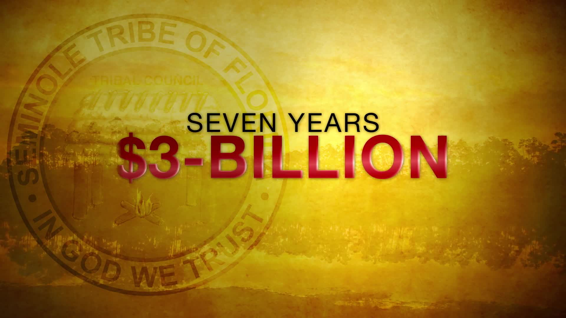 Seminole Tribe runs ad touting $3B in revenues in casino compact