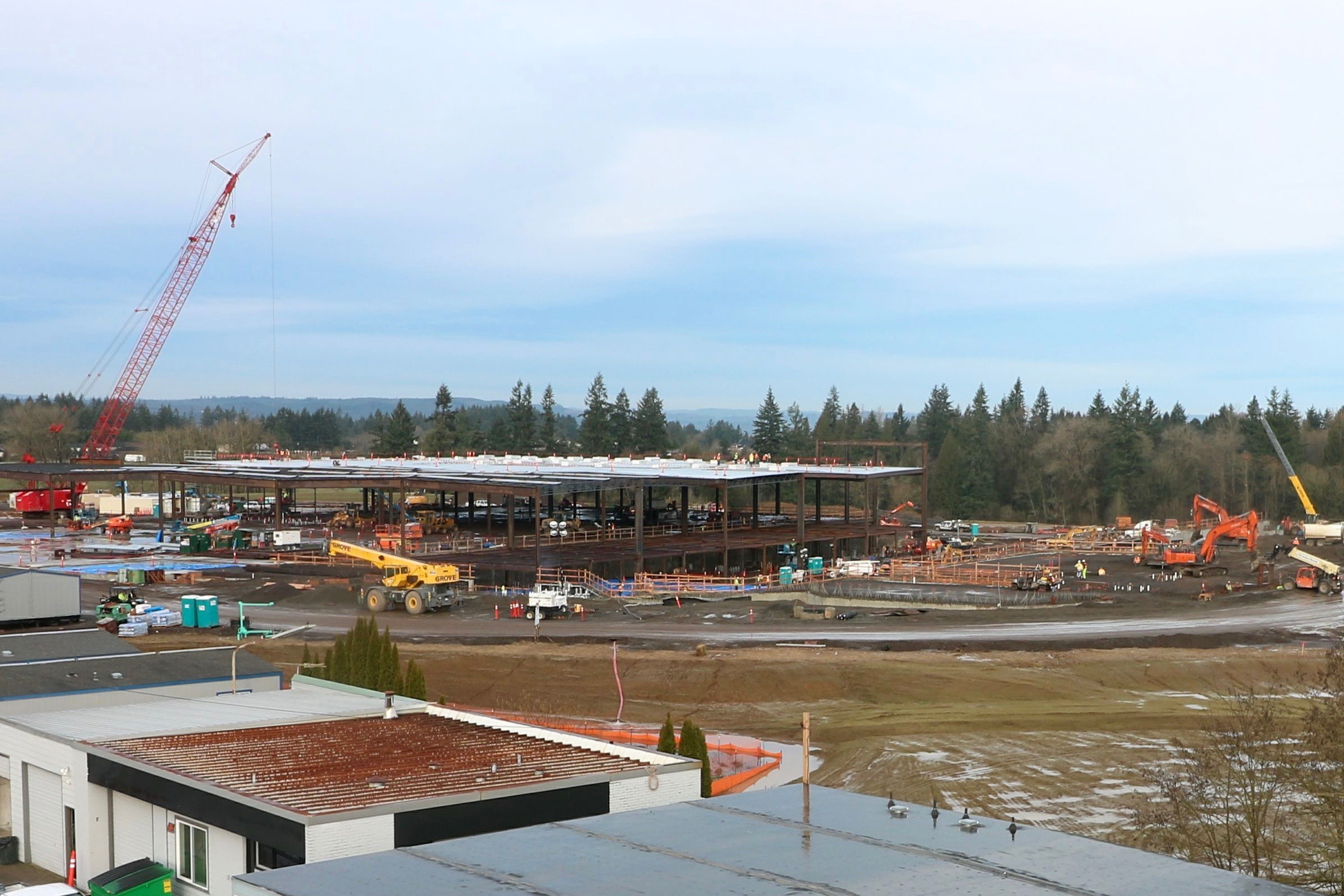 Cowlitz Tribe close to reaching agreement with city for new casino