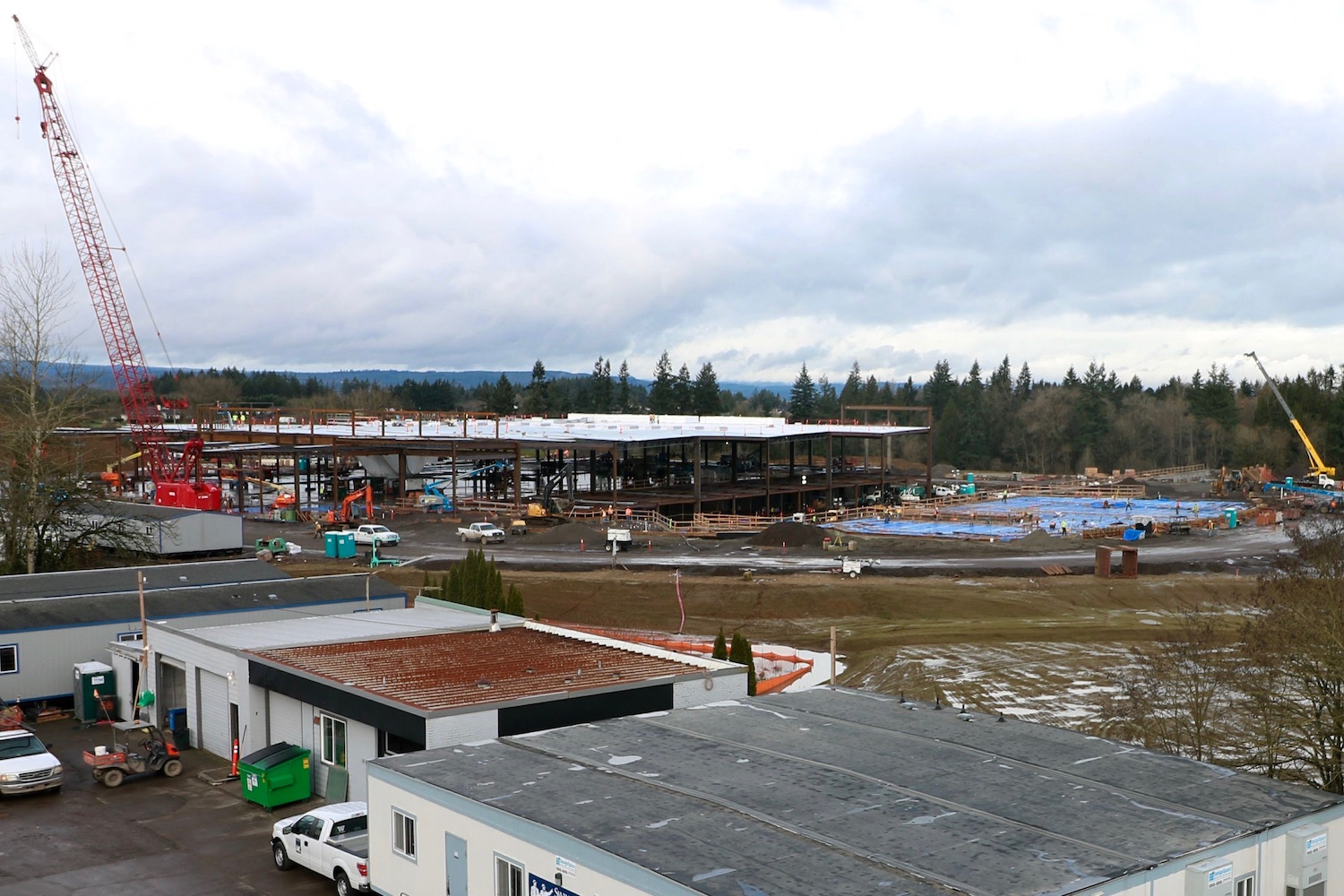 Cowlitz Tribe celebrates start of construction on $500M casino
