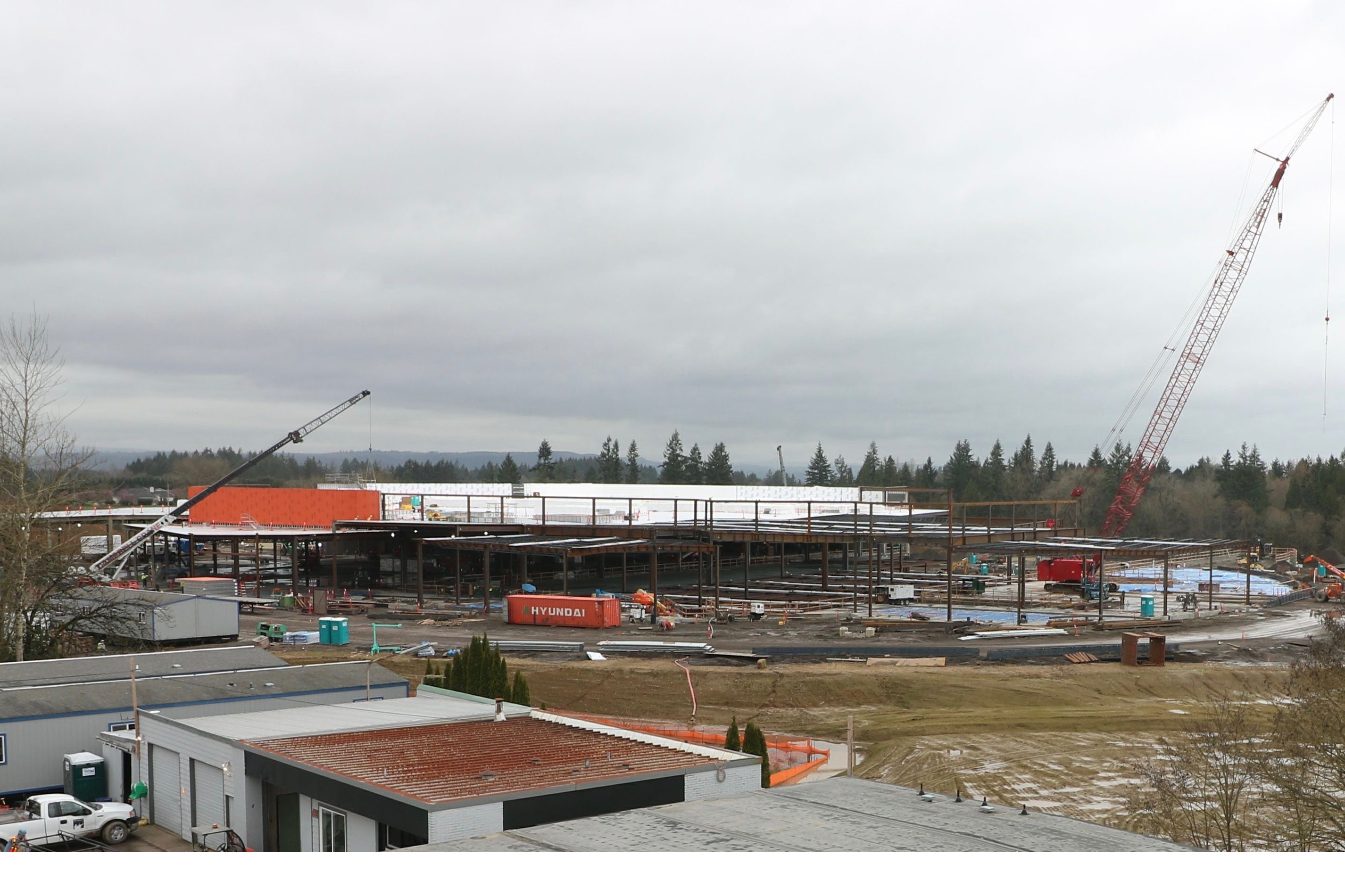 Cowlitz Tribe won't stop working on casino despite county threat