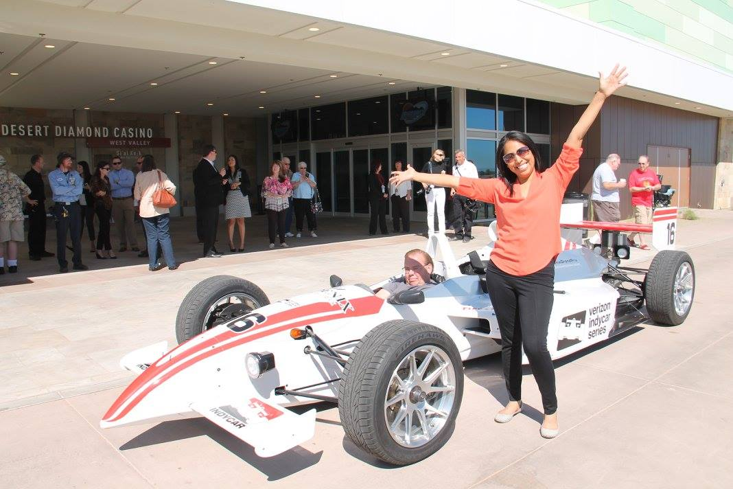 Tohono O'odham Nation puts casino name on car race in Arizona