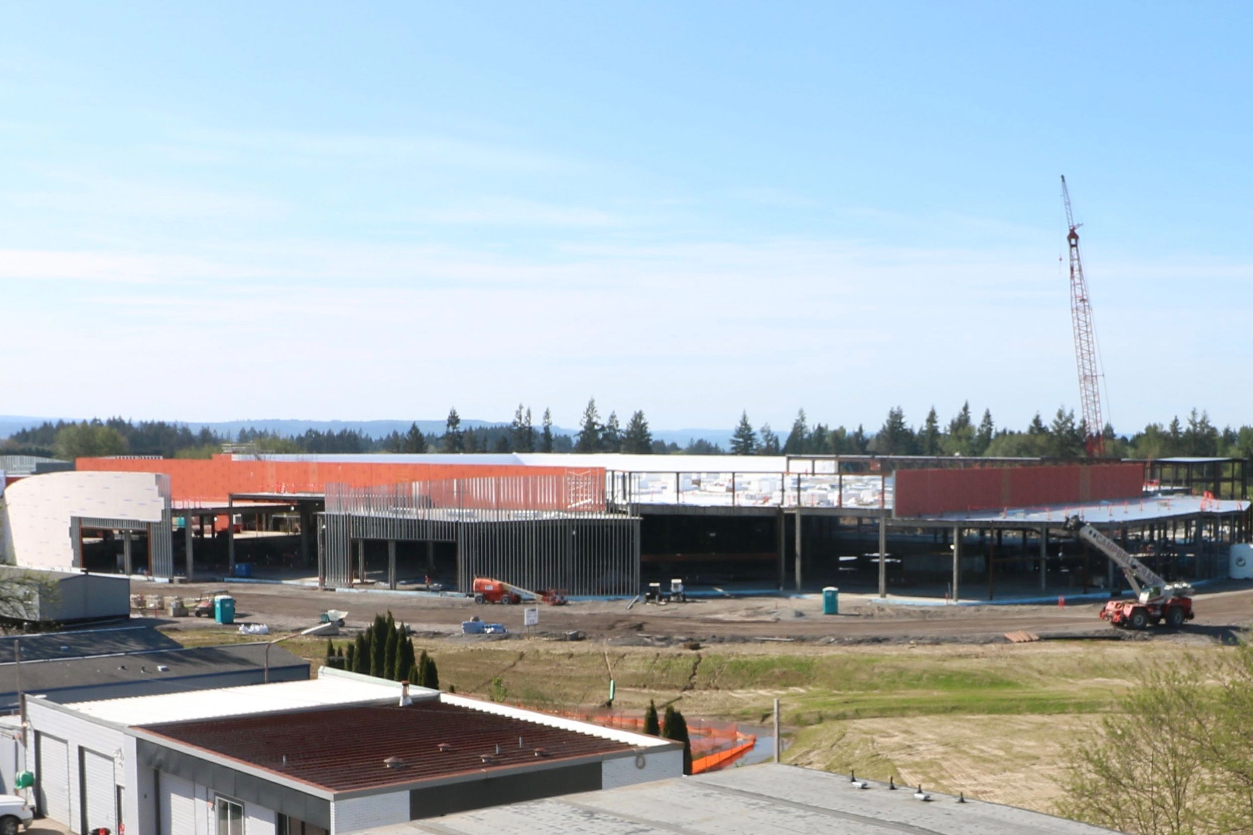 Cowlitz Tribe accuses county of threatening casino site workers