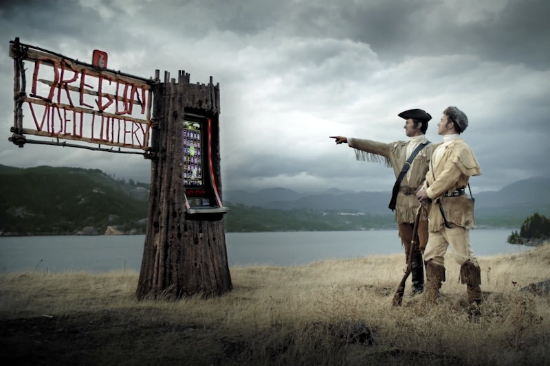 Oregon Lottery official fired as Lewis and Clark ads come down