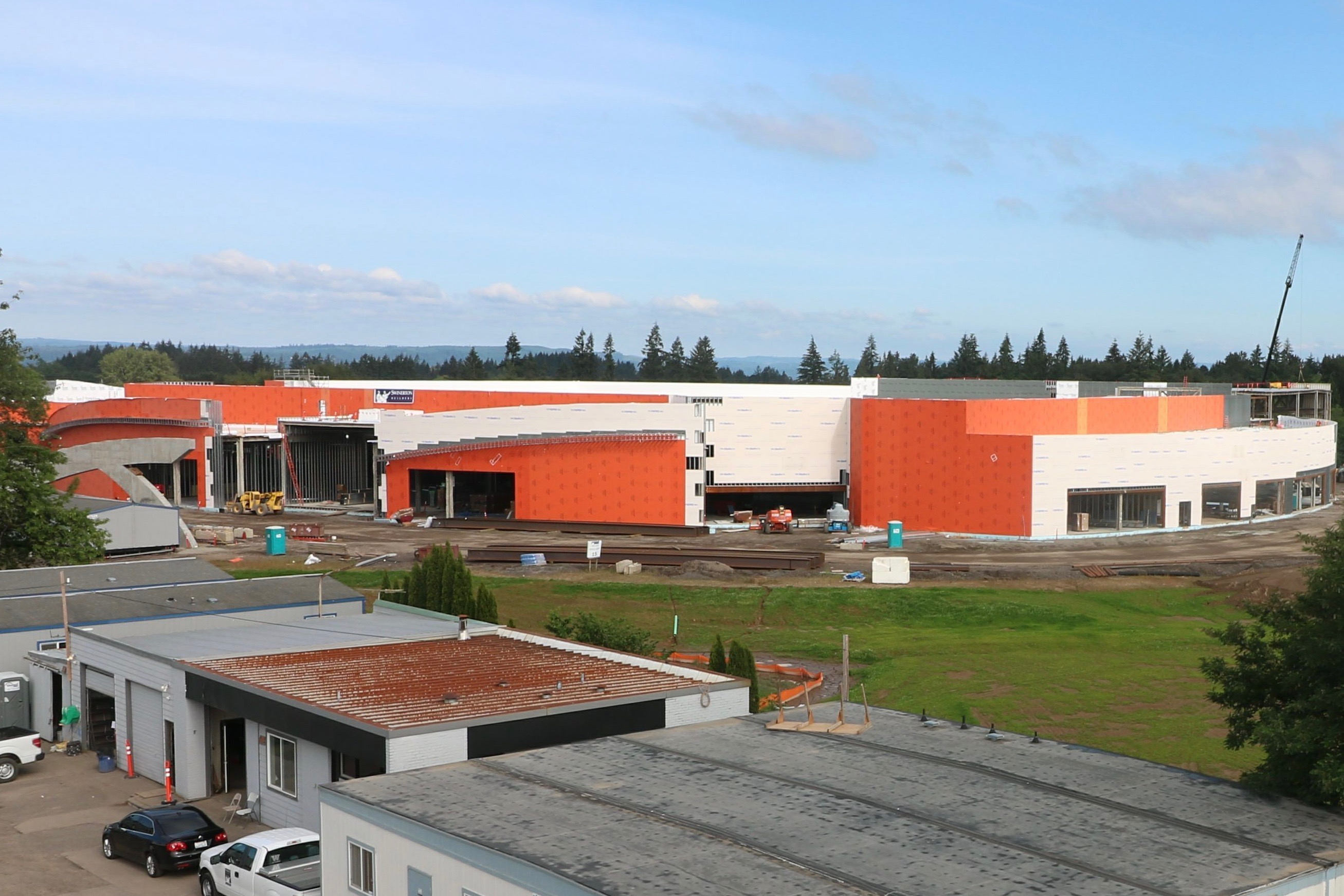 Cowlitz Tribe reports significant progress on fast-rising casino