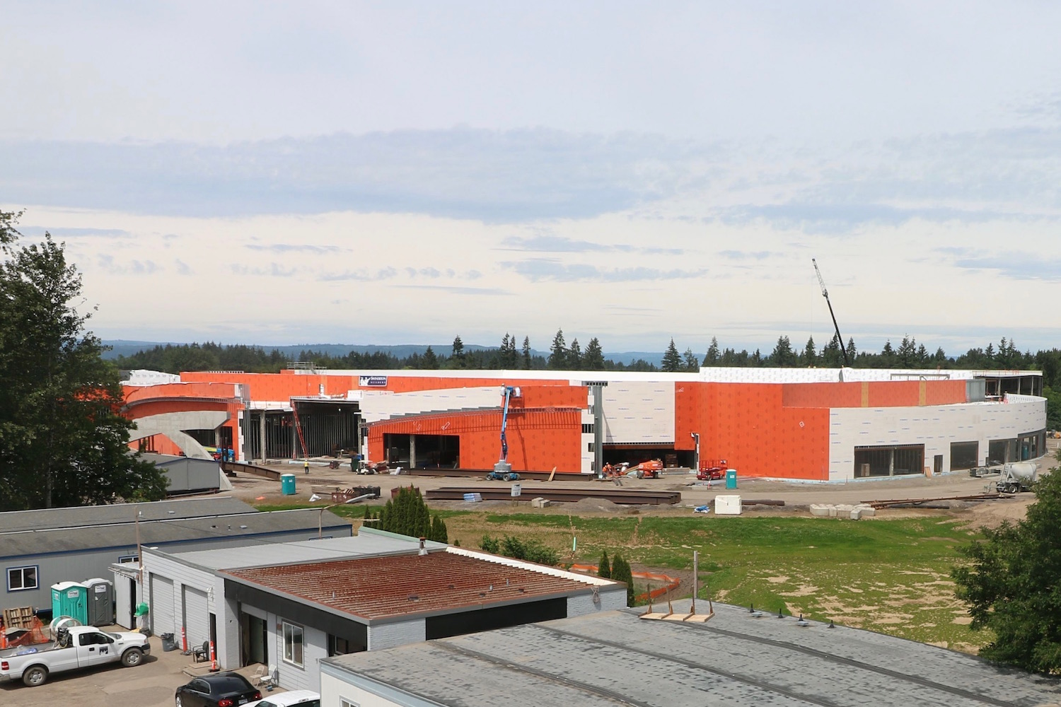 Cowlitz Tribe in discussions with county about stance on casino