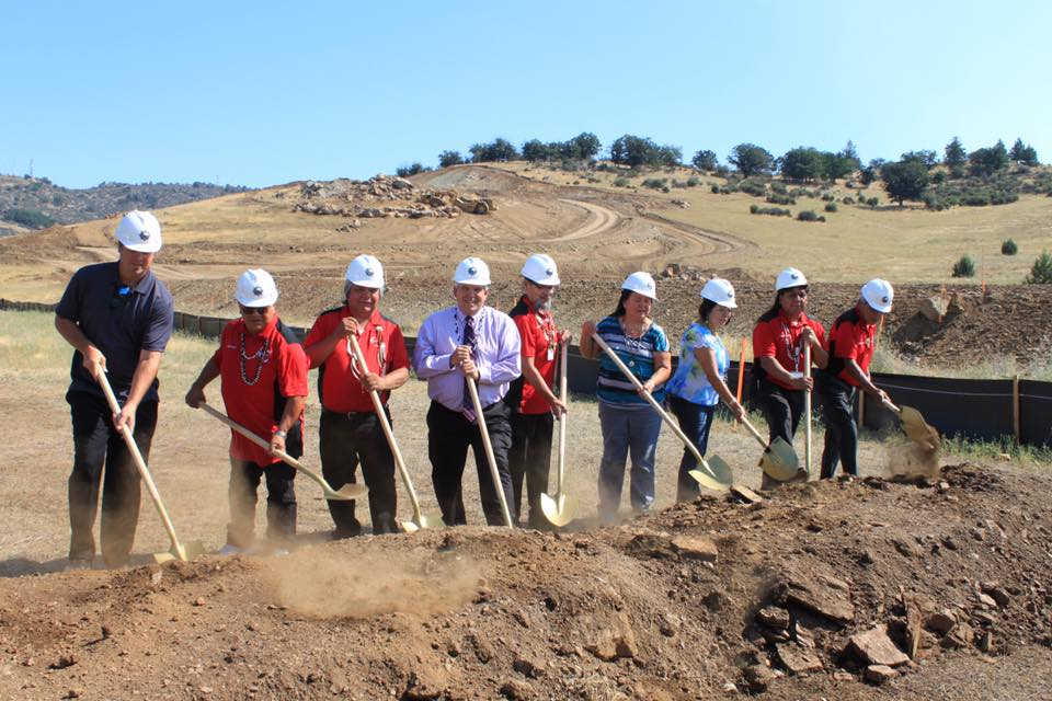 Karuk Tribe hosts groundbreaking ceremony for long-awaited casino