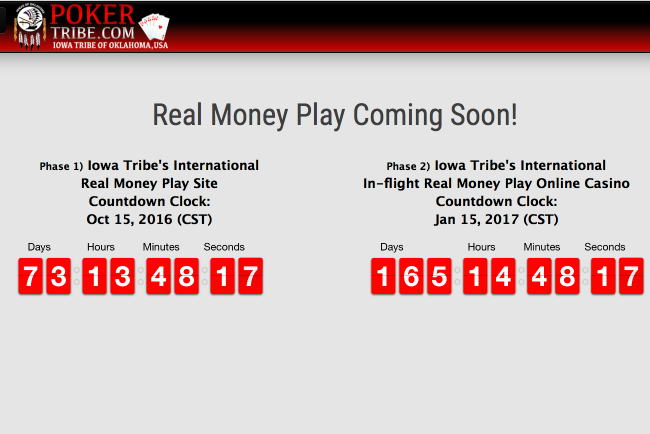 Iowa Tribe delays launch of real money games on online poker site