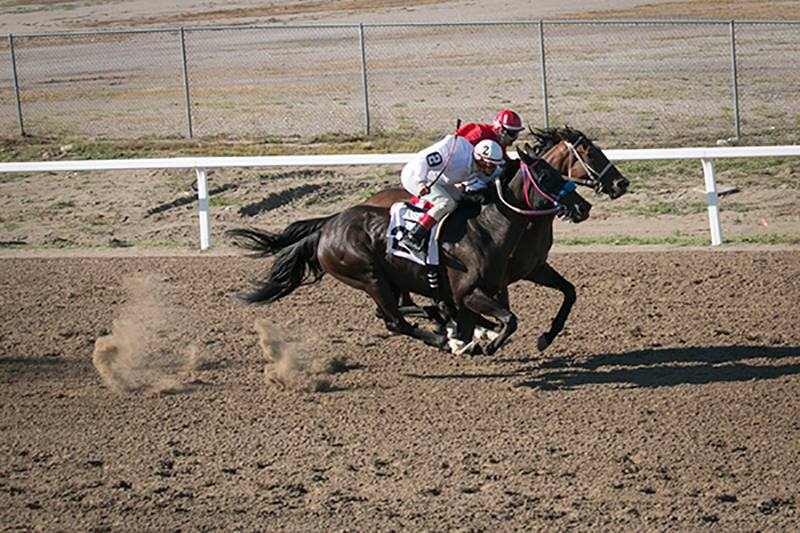 Winnebago Tribe sees strong turnout for one race at new track