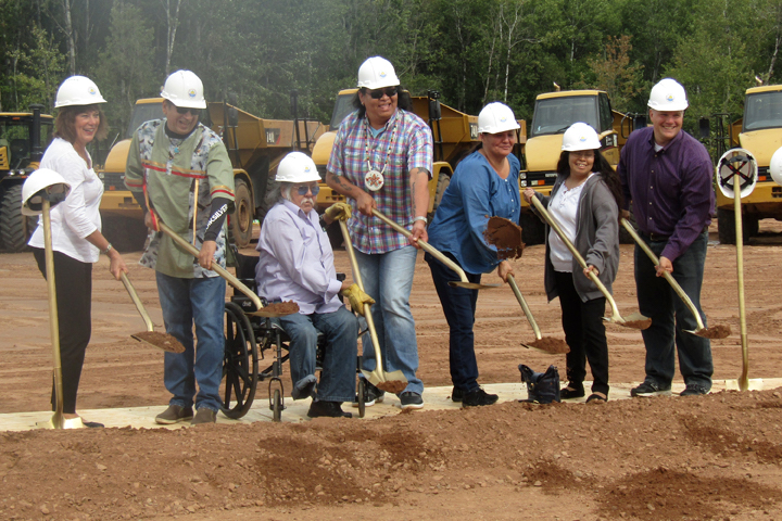 St. Croix Chippewa Tribe breaks ground on casino replacement project