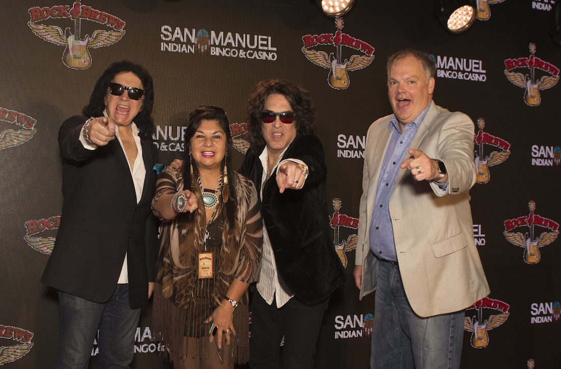 San Manuel Band welcomes casino eatery from Gene Simmons and Paul Stanley of KISS