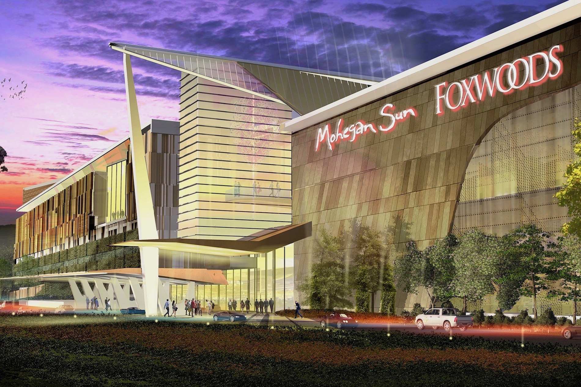 Tribes falling behind on schedule for controversial casino in Connecticut