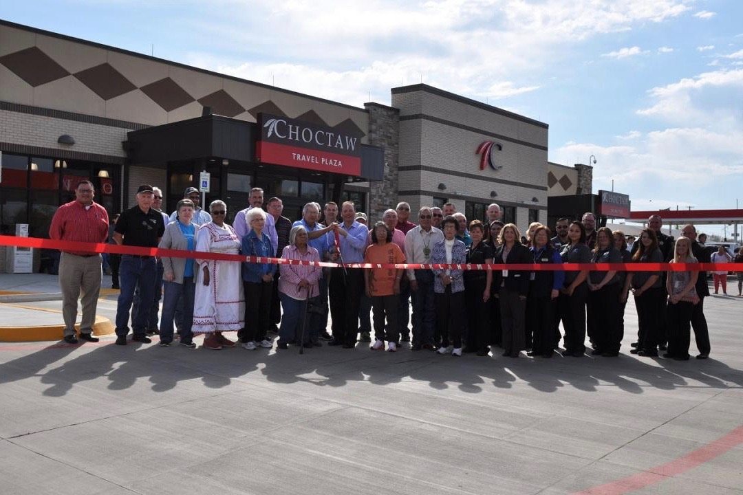 Choctaw Nation opens doors to travel center and gaming facility