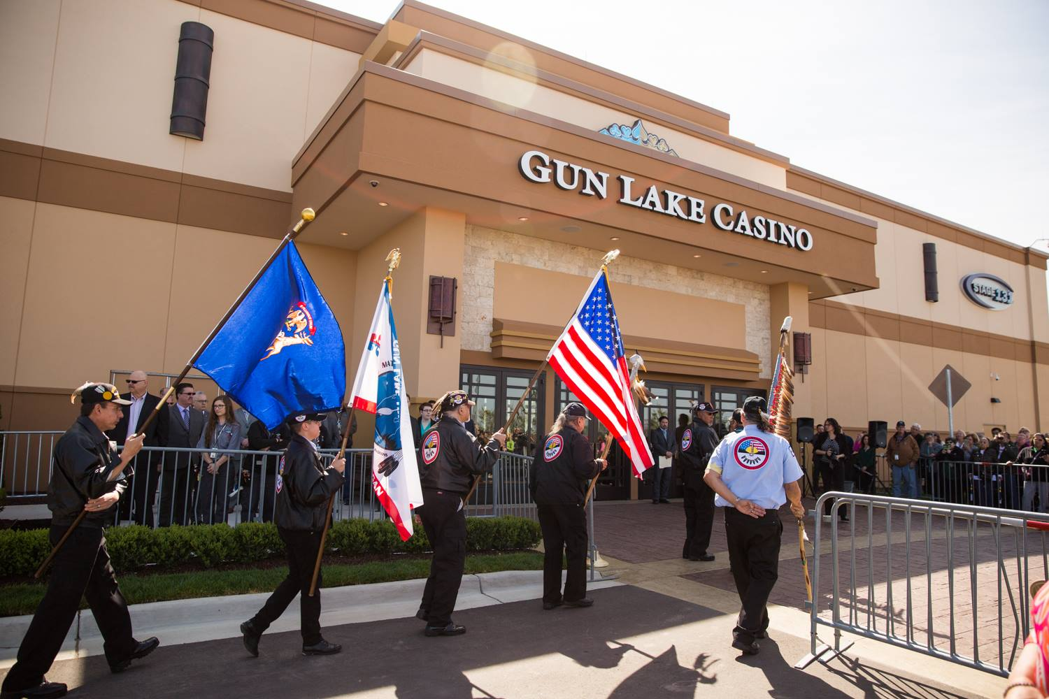 Gun Lake Tribe opens doors to $76M expansion of gaming facility