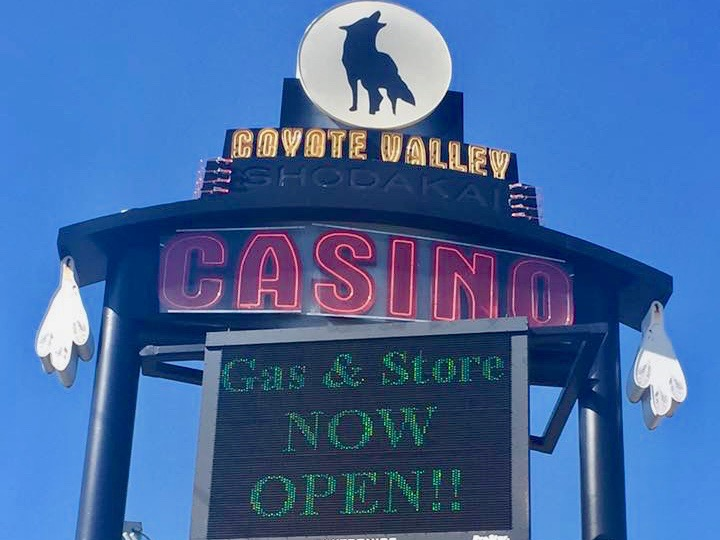 Coyote Valley Band works with county to move casino to new site