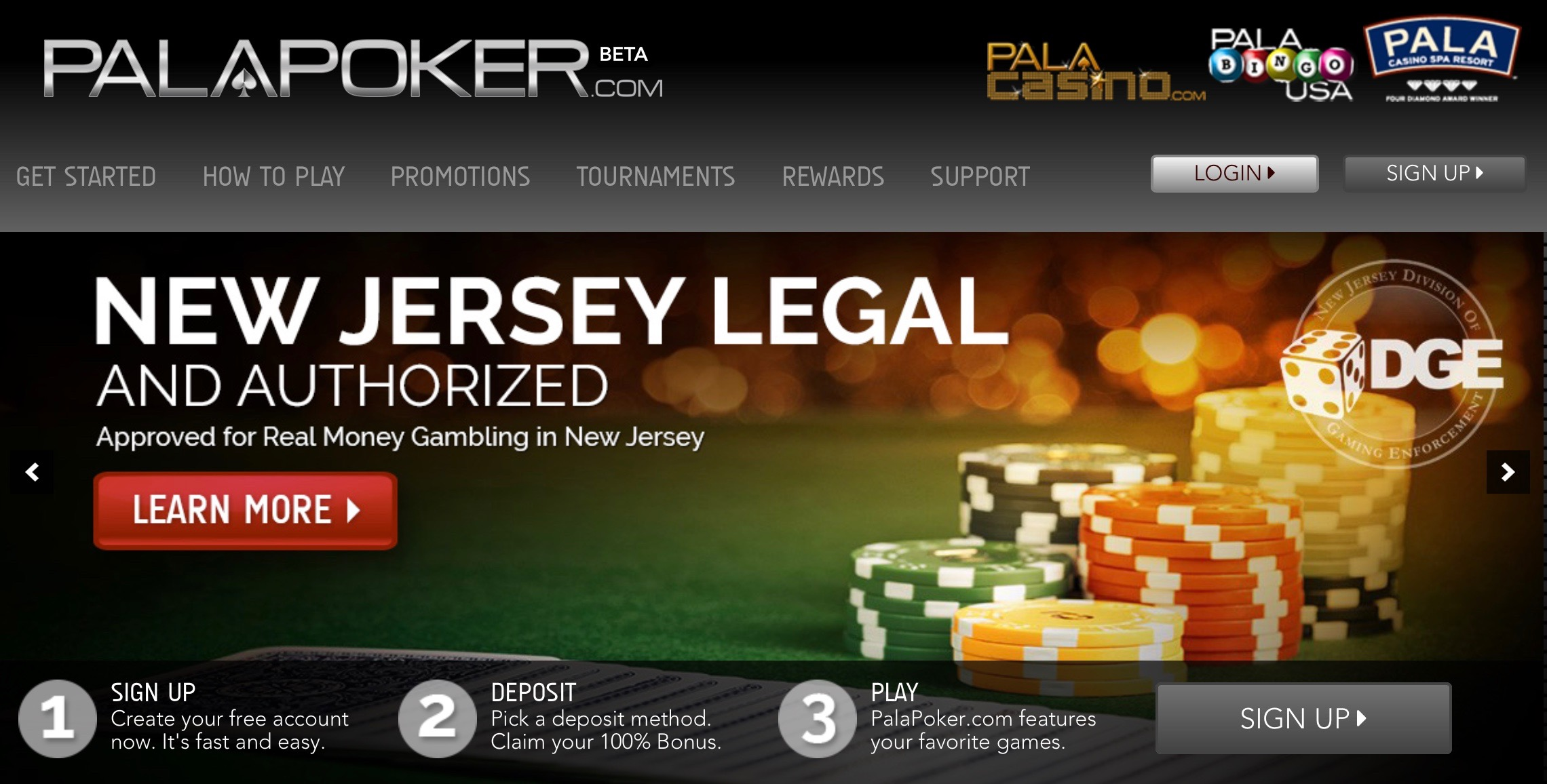 Pala Band launches another online gambling site in New Jersey