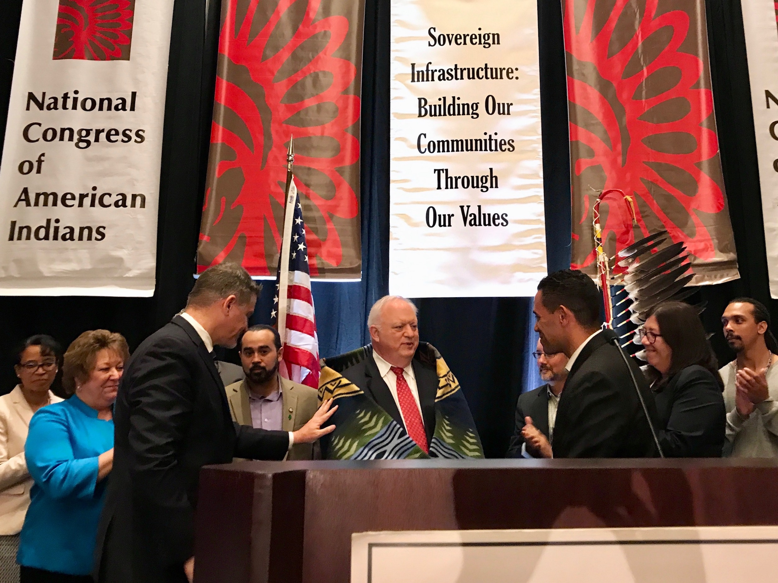 Connecticut tribes heap praise on senior Trump administration official