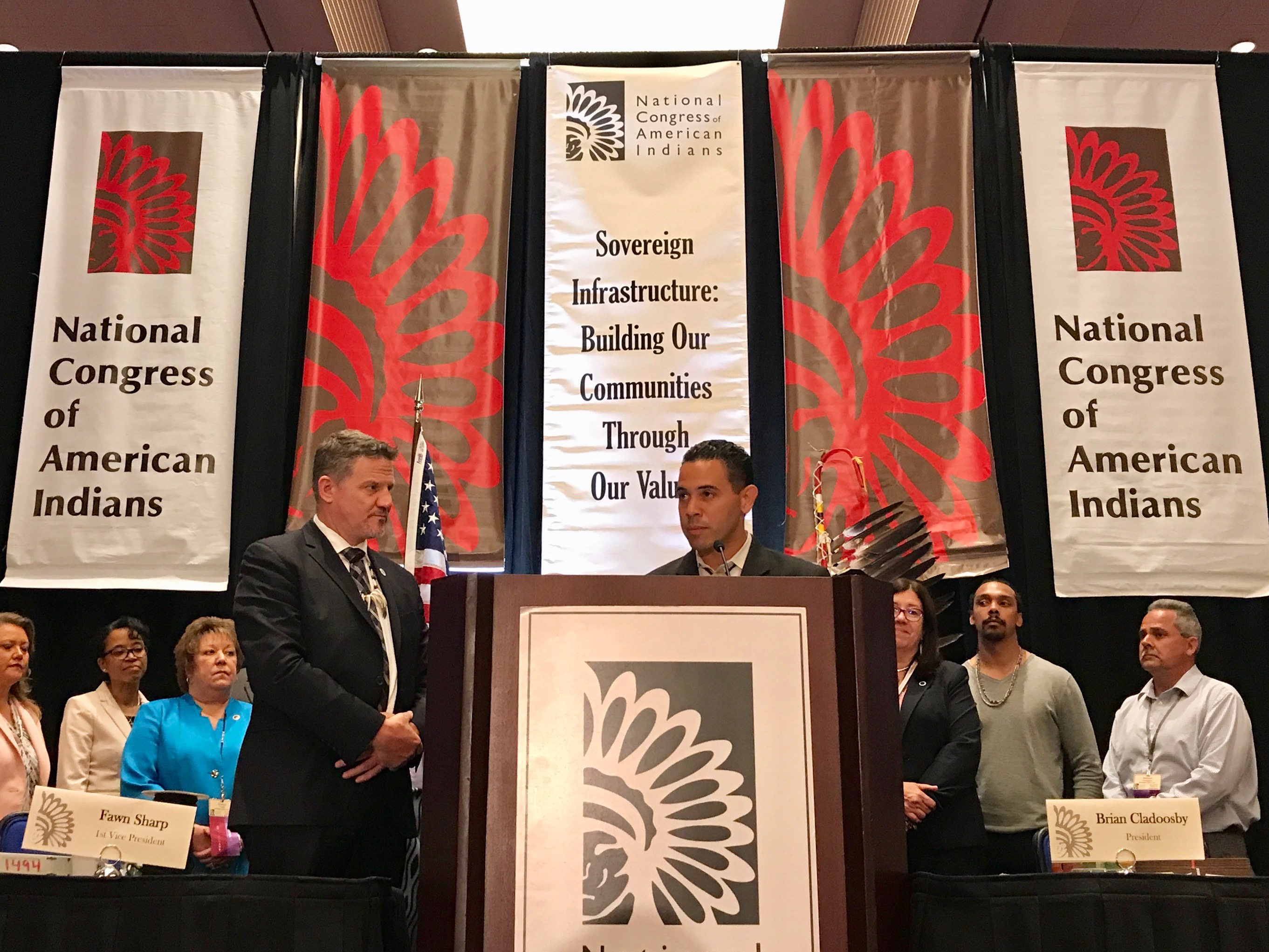 Tribes celebrate as governor in Connecticut signs new casino bill into law