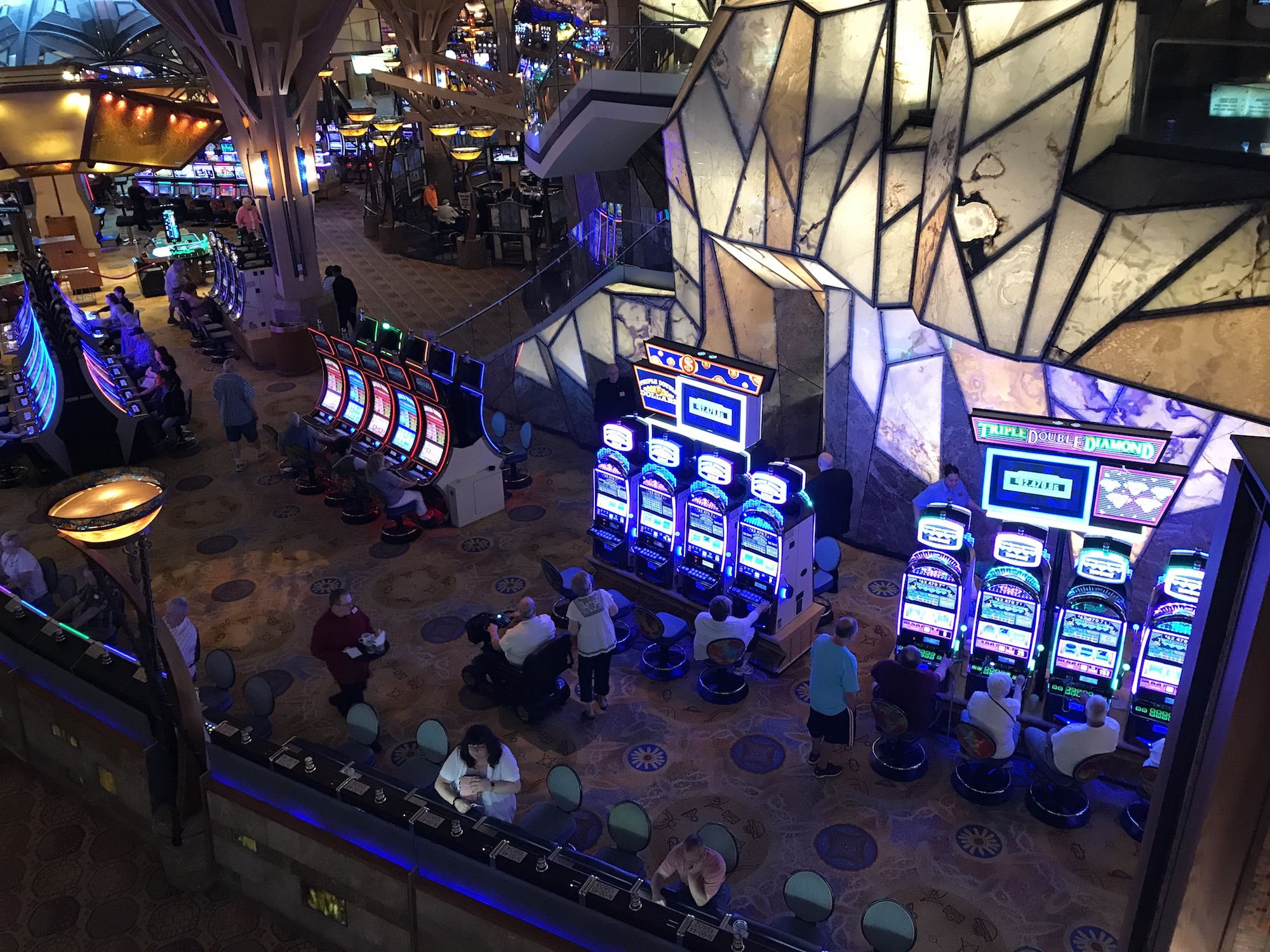 Mohegan Tribe reports 7.6 percent increase in slot machine revenues