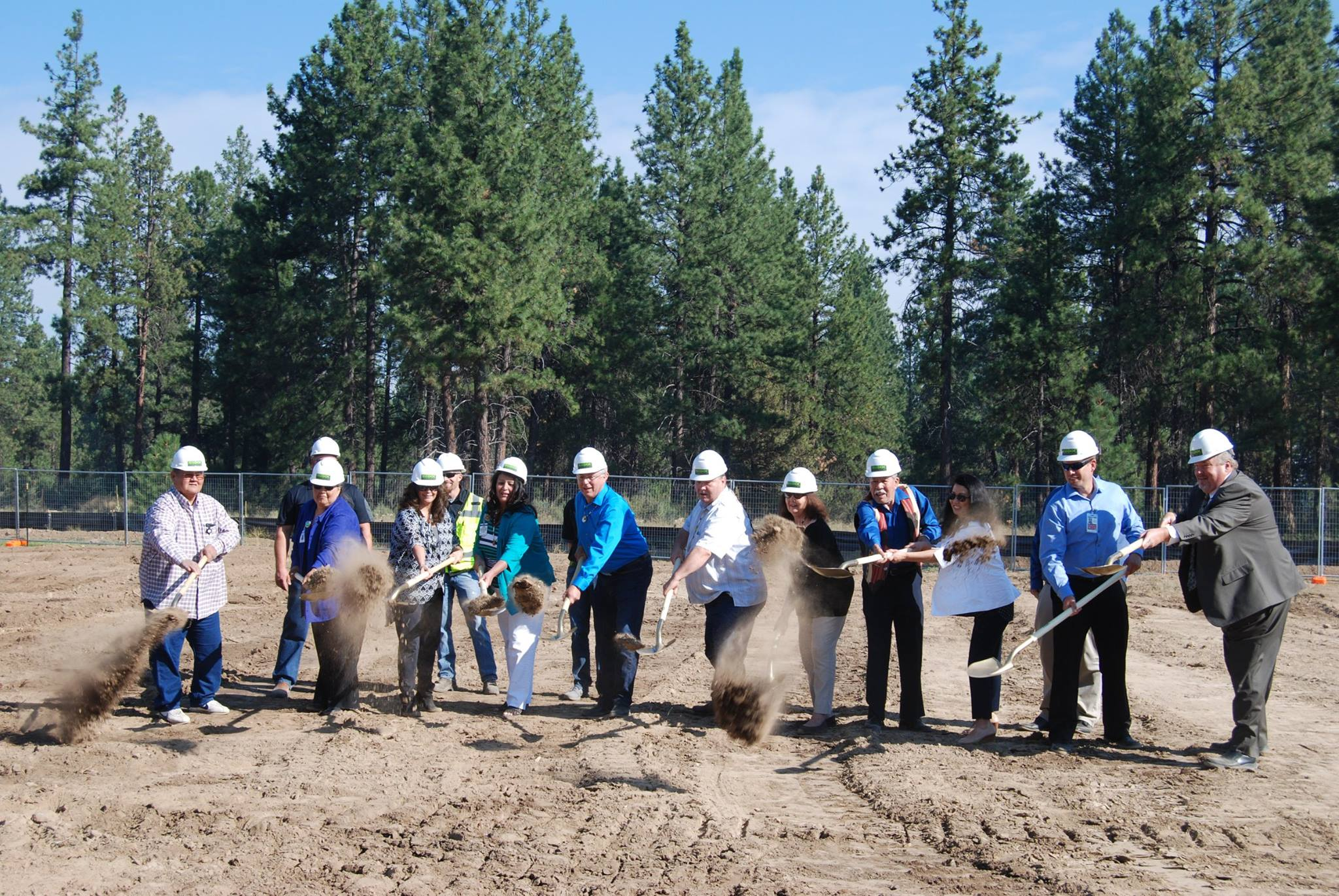 Klamath Tribes break ground on hotel as part of long-term casino expansion