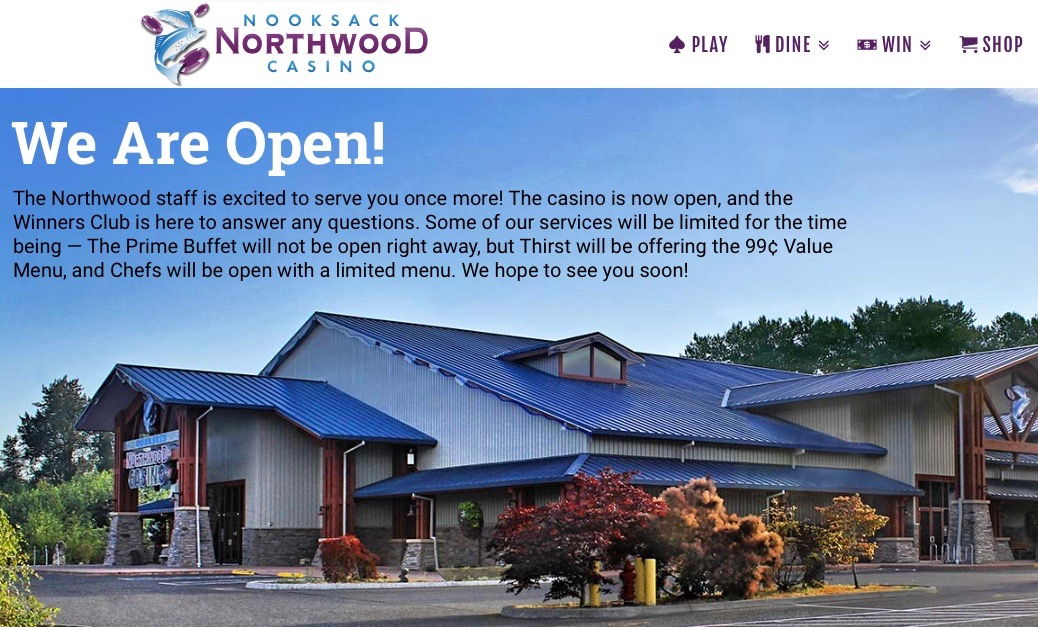 Nooksack Tribe reopens casino after reaching settlement with gaming agency